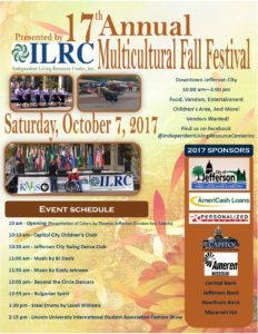 17th Annual Multicultural Fall Festival @ Downtown Jefferson City, MO