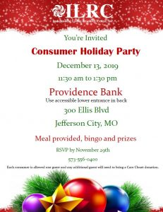 JC Consumer Holiday Party @ Providence Bank