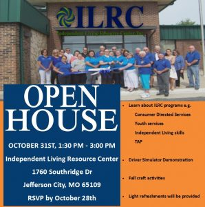 Open House-Consumers @ Independent Living Resource Center