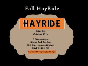 Youth Hayride @ Binder Park Pavilion