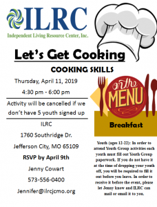 Cooking Skills @ ILRC