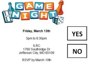 Youth Game night @ ILRC