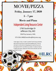 Youth Pizza and Movie @ ILRC